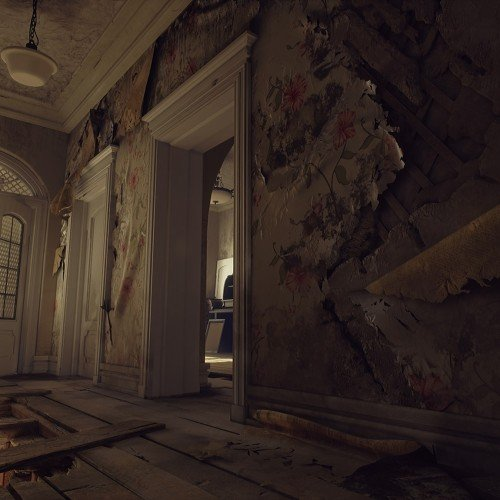Abandoned Interior – UE4