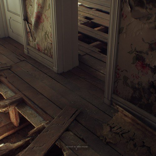 Abandoned Interior – UE4